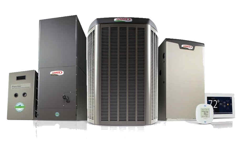 New Cooling and Heating Equipment by Lennox.