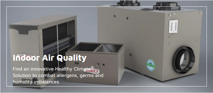 Lennox air quality products link
