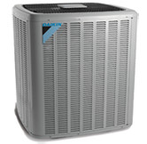 Daikin heat pump unit for heating and cooling Lake of the Ozarks homes